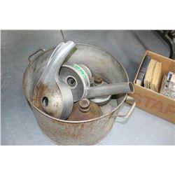 Tub w/Cream Separator Parts