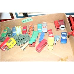 Toy Vehicles Made by Lesney (26) - Before Lesney contracted them out to Meccano