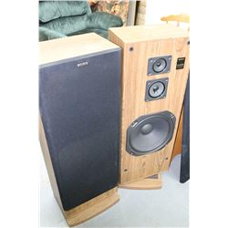 Sony SS-C67AV 3-Way Speakers (2)