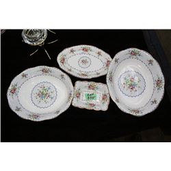 Royal Albert 'Petite Point' 4 Dishes