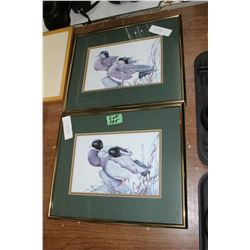 2 Bird Pictures by 'Art Lamay'