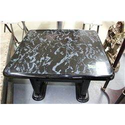 Black Marble Type Coffee Table