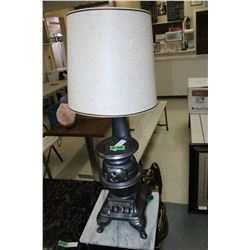 """Pot Belly Stove"" Lamp"