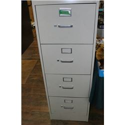 4 Drawer File Cabinet (Legal) with Hanging Folders