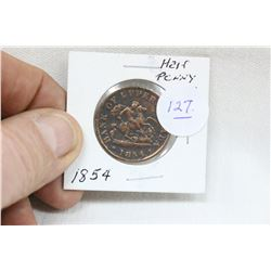 Bank of Upper Canada Half Penny (1)