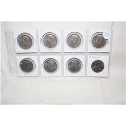 U.S.A. Half Dollar Coins (8)