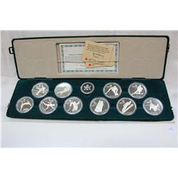 Canada Twenty Dollar Olympic Coins (10)