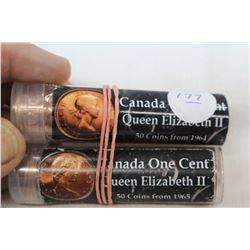 Canada One Cent Coins (100)