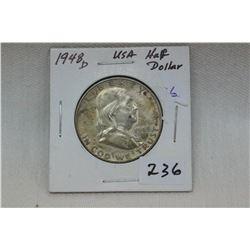 U.S.A. Half Dollar Coin (1)