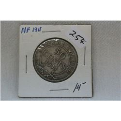 Newfoundland Fifty Cent Coin (1)