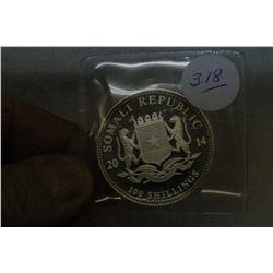 Somali Republic 100 Shillings