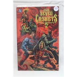 """D.C. Comics, J.L.A. """"Seven Caskets"""""""