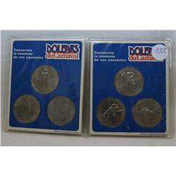 Quebec Carnival Coins (6)