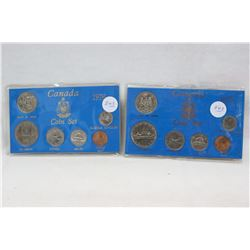 Canada Coin Sets (2) 6 Coins in Each Set