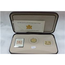 Canada Coin and Stamp Set