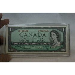 Canada Uncirculated Bills (5)