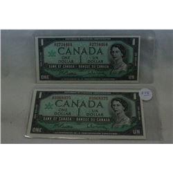 Canada Dollar Bill (2)