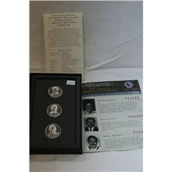 Hockey Hall of Fame Inductee Medallion Collection