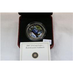 Canada Twenty-Five Cent Coin (1) 'Bird Series'