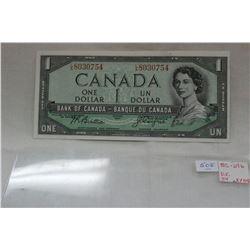 Canada One Dollar Bill (1)