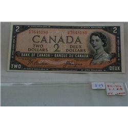 Canada Two Dollar Bill (1)