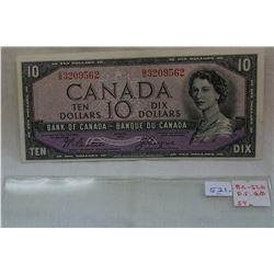 Canada Ten Dollar Bill (1)
