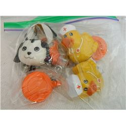 BAG OF ANIMAL PULLS - TAGS OR KEYS