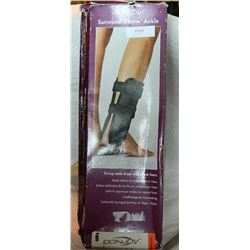 DONJOY STIRRUP ANKLE BRACE WITH FOAM LINER - NEW - 9""