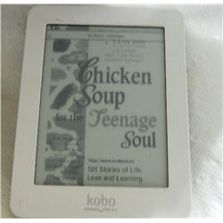 E-READER - KOBO MINI READER - INCLUDES 4 BOOKS - 50 SHADES OF GREY, 50 SHADES DARKER, 50 SHADES FREE