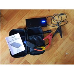 JUMP STARTER - TYPE S - & PORTABLE POWER BANK - WITH CASE