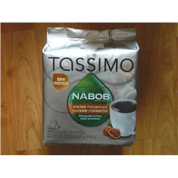 TASSIMO COFFEE CUPS - SWISS HAZELNUT - 14/PK