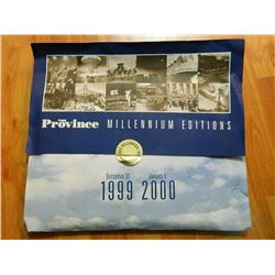 THE PROVINCE - MILLENIUM EDITION - 1999-2000 - PLUS EXAMINER (NOV 7, 1999)