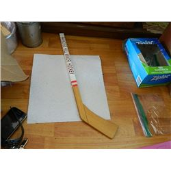 "HOCKEY STICK - MINI - ""PARADISE HILL MINOR HOCKEY"" - WOOD"