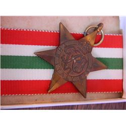 WAR MEDAL - 1939-45 STAR - WITH RIBBON