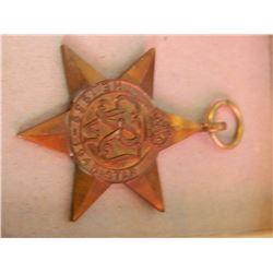 WAR MEDAL - 1939-45 STAR