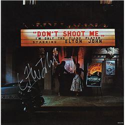 "Elton John ""Don't Shoot Me I'm Only The Piano Player"" Signed Album"