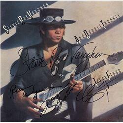 "Stevie Ray Vaughan ""Texas Flood"" Signed Album"
