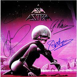 Asia Band Signed Astra Album