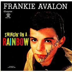 Frankie Avalon Signed Swingin' On A Rainbow Album