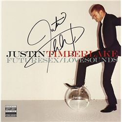"Justin Timberlake ""FutureSex/Lovesongs"" Signed Album"