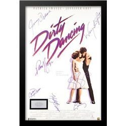Dirty Dancing Signed Movie Poster