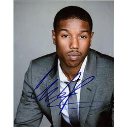Michael B Jordan Signed Photo