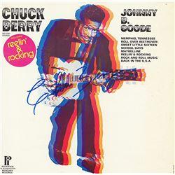 Chuck Berry Signed Johnny B. Goode Album