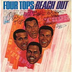 """Four Tops """"Reach Out"""" Signed Album"""