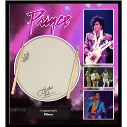 Prince Signed Drum Head