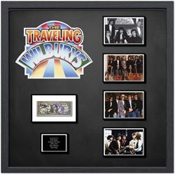 Traveling Wilburys Signed US Silver Certificate Collage