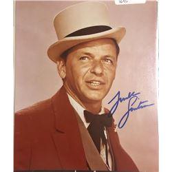 Frank Sinatra Signed Photo
