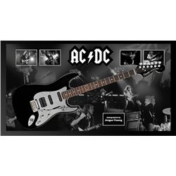 AC/DC Angus Young Signed Guitar