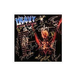 Heavy Metal Signed Soundtrack Album