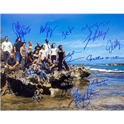 Lost Cast Signed Photo